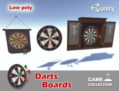 Darts Boards 3D Model