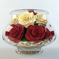 Roses in the aquarium 3D Model