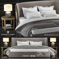 Bed Marseille                                      3D Model