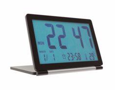 Pingenaneer Folding LCD Display Digital Travel Clock Desk 3D Model