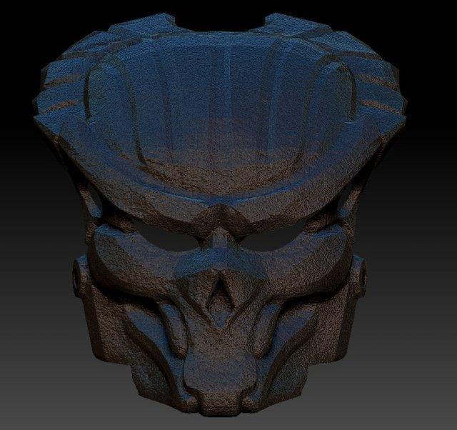Predator Skull 3D Model