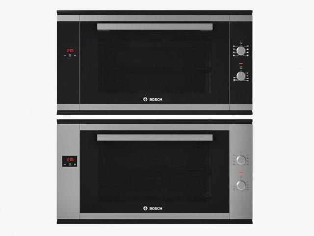 90 cm Built-in single oven Serie 6 BOSCH 3D Model