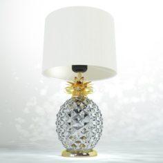 Decorative lamp Glamour Pineapple 3D Model