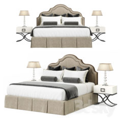 Toscanova Bed Grace 180                                      3D Model