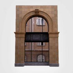 Architecture Detail-Classic window arc- 3D Model
