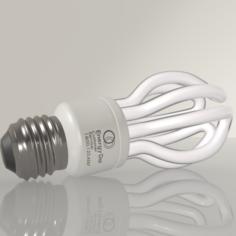 Energy Saving Light Bulb 02 3D Model