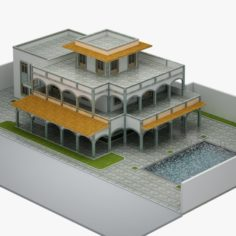 Villa 05 3D Model