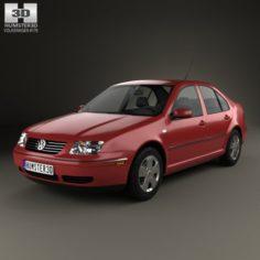 Volkswagen Jetta Sedan 2003 3D Model