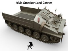 Alvis Streaker Load Carrier 3D Model