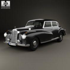 Mercedes-Benz 300 W186 Limousine 1951 3D Model