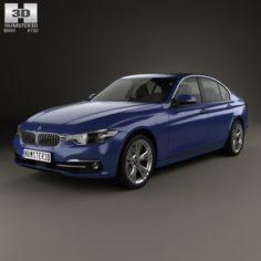 BMW 3 Series F30 Sport Line 2015 3D Model