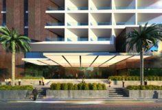 Liberty Hotel 3D Model