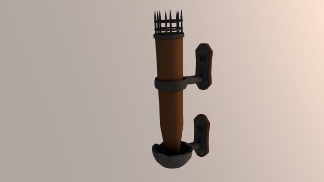 Torch 3D Model