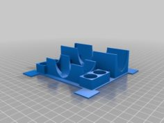 Magic Maze Pawn and Timer Holder 3D Print Model