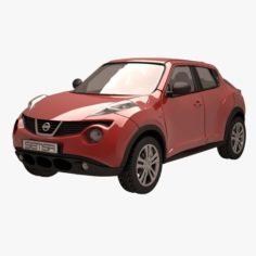 Nissan Juke 02 Red 3D Model