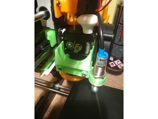 Removable Extruder Fan Holder A8 with Z probe 3D Print Model