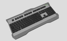Gaming KeyBoard 3D Model