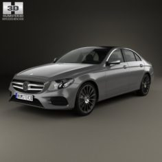 Mercedes-Benz E-class W213 AMG Line 2016 3D Model