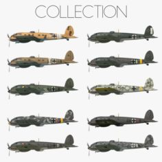 Heinkel He 111 – Mega Collection 3D Model