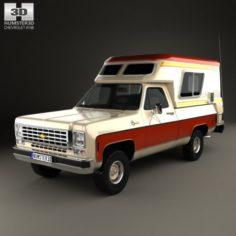Chevrolet Blazer Chalet 1976 3D Model