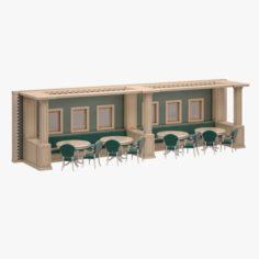 Restaurant Dinner Set 09 3D Model