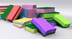 Kitchen Sponge 3D Model
