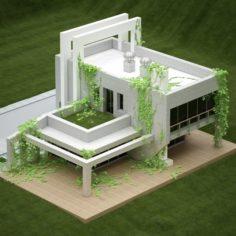 Villa 01 V2 3D Model