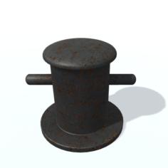 Bitt A 3D Model