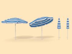 Beach Parasol 3D Model
