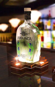 Illuminated base for bottle 3D Model