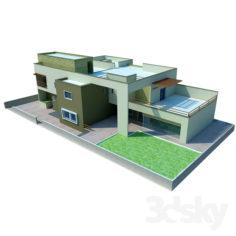 VILLA-02                                      Free 3D Model