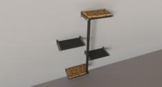 Wall Cat Tree 3D Model