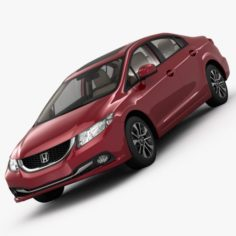 Honda Civic 4D Elegance 2013 3D Model
