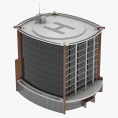 Office Building 03 3D Model