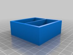 twin section box 3D Print Model