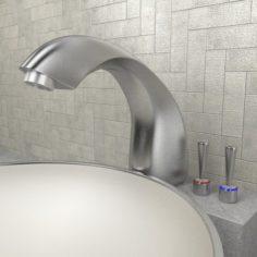 Bathroom fittings 3D Model