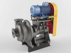 Pump centrifugal Gkl 3D Model