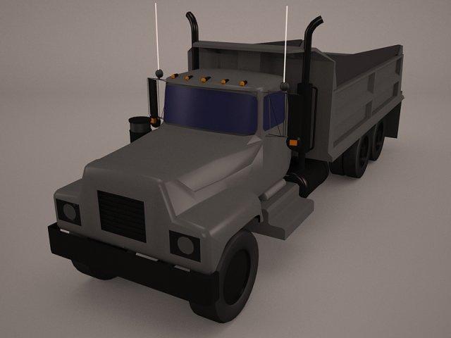 Truck Generic 3D Model