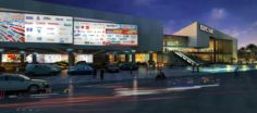 Topcare shopping mall 3D Model
