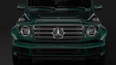 Mercedes-Benz G 550 W464 2018 3D Model