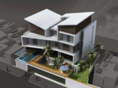 M House Free 3D Model