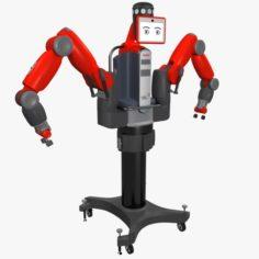 Industrial Baxter Robot 3D Model