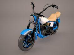 Easy Rider Harley Davidson 3D Model