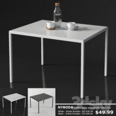 IKEA NYBODA Coffee table                                      3D Model