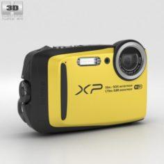 Fujifilm FinePix XP90 Yellow 3D Model