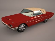 Ford Thunderbird 1956 3D Model