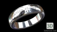 3D-Model  Ring Divide et impera