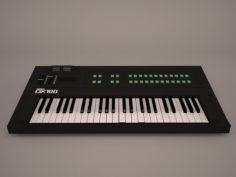 Synth Roland 3D Model