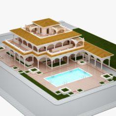 Villa 04 3D Model
