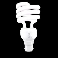 Energy Saving Light Bulb 01 3D Model